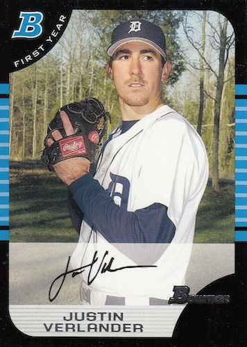 Top Justin Verlander Baseball Cards 2