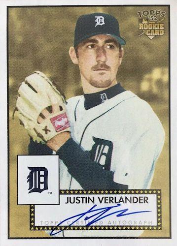 Top Justin Verlander Baseball Cards 6