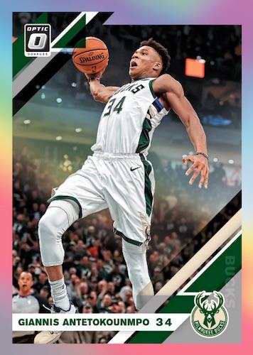 2019-20 Donruss Optic Basketball Cards 1