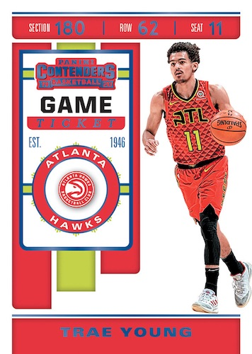 2019-20 Panini Contenders Basketball Cards 3