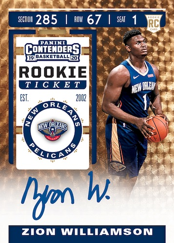 2019-20 Panini Contenders Basketball Cards 7