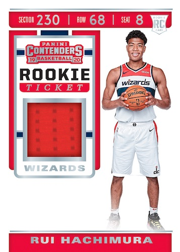 2019-20 Panini Contenders Basketball Cards 10