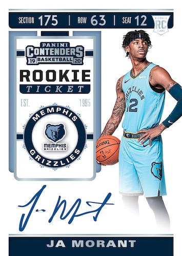 2019-20 Panini Contenders Basketball Cards 6