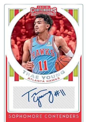 2019-20 Panini Contenders Basketball Cards 9