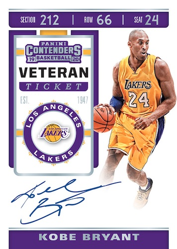 2019-20 Panini Contenders Basketball Cards 8