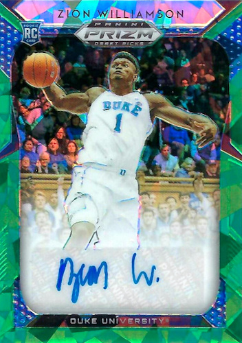 Top Zion Williamson Rookie Cards to Collect 44