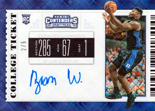 Top Zion Williamson Rookie Cards to Collect 31