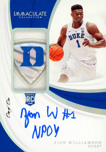 Top Zion Williamson Rookie Cards to Collect 35