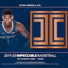 2019-20 Panini Impeccable Basketball Cards