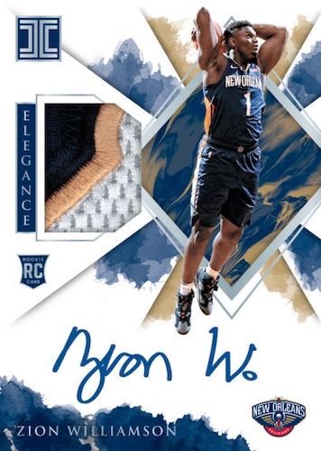 2019-20 Panini Impeccable Basketball Cards 4