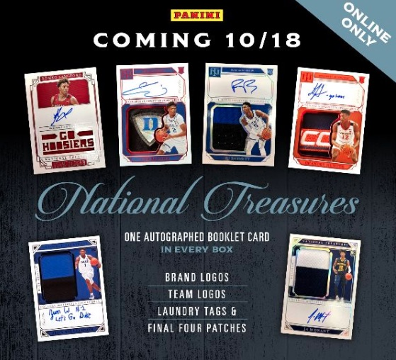 2019-20 Panini National Treasures Collegiate Basketball Cards 3