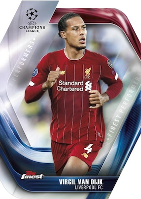 2019-20 Topps Finest UEFA Champions League Soccer Cards 5