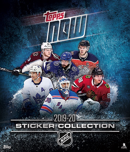 2019-20 Topps Now NHL Stickers Hockey Cards - Stanley Cup Champs 2