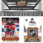 2019-20 Upper Deck Buybacks Hockey Cards
