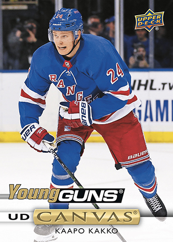 2019-20 Upper Deck Series 1 Hockey Cards - Young Guns Checklist 41