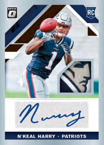 2019 Donruss Optic Football Cards 7