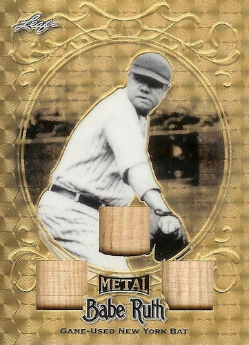 2019 Leaf Metal Babe Ruth Collection Baseball Cards - Special Edition Box 21