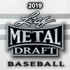 2019 Leaf Metal Draft Baseball Cards - Jasson Dominguez Red, White & Blue packs