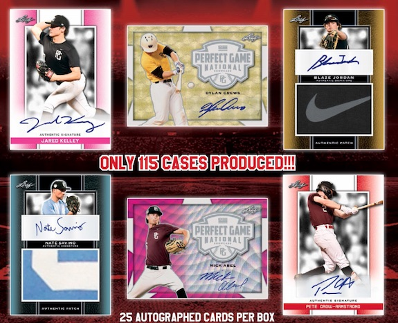 2019 Leaf Perfect Game National Showcase Baseball Cards 1