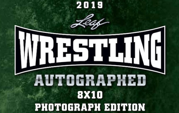 2019 Leaf Wrestling Autographed Photograph Edition 1
