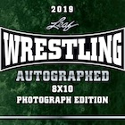 2019 Leaf Wrestling Autographed Photograph Edition