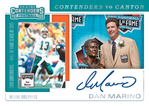 2019 Panini Contenders Football Cards - SP/SSP Ticket Info 8