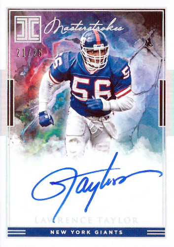 2019 Panini Impeccable Football Cards 32