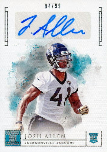 2019 Panini Impeccable Football Cards 31