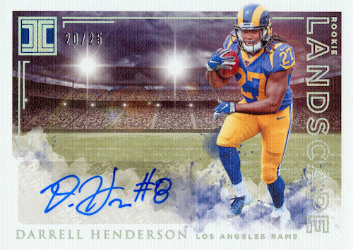 2019 Panini Impeccable Football Cards 37