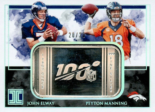 2019 Panini Impeccable Football Cards 35