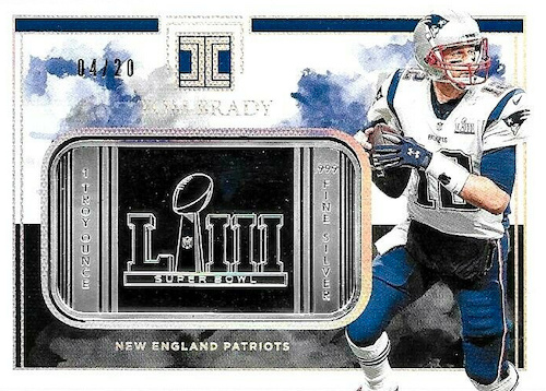 2019 Panini Impeccable Football Cards 34