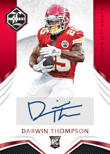 2019 Panini Limited Football Cards 5