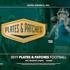 2019 Panini Plates and Patches Football