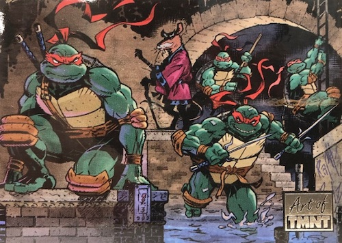 2019 Topps Art of TMNT Teenage Mutant Ninja Turtles Trading Cards 27