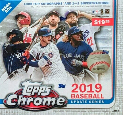 2019 Topps Chrome Update Series Baseball Cards 4