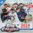 2019 Topps Chrome Update Series Baseball Cards