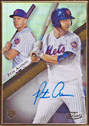 ROY! Pete Alonso Rookie Cards Guide and Top Prospects List 35