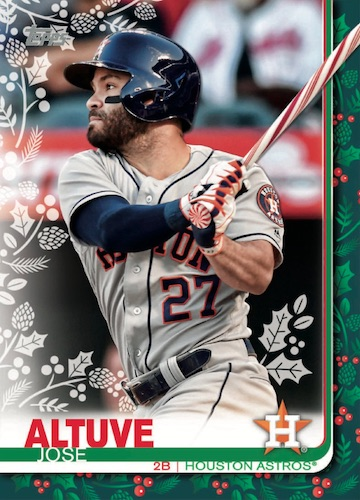2019 Topps Holiday Baseball Mega Box Cards 4
