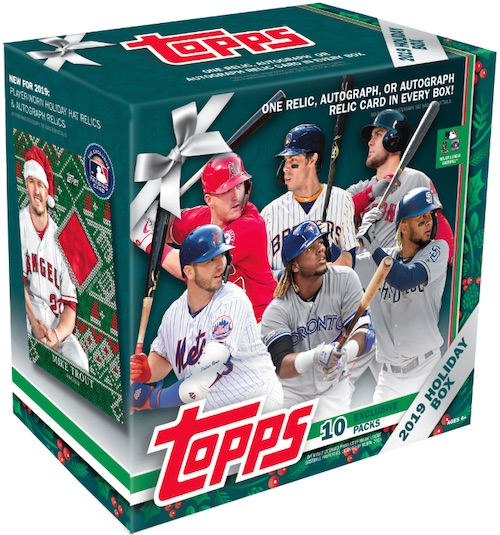 2019 Topps Holiday Baseball Mega Box Cards 5
