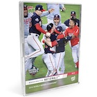 2019 Topps Now Washington Nationals World Series Champions Cards