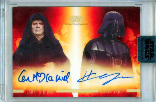 2019 Topps Star Wars Stellar Signatures Trading Cards 26
