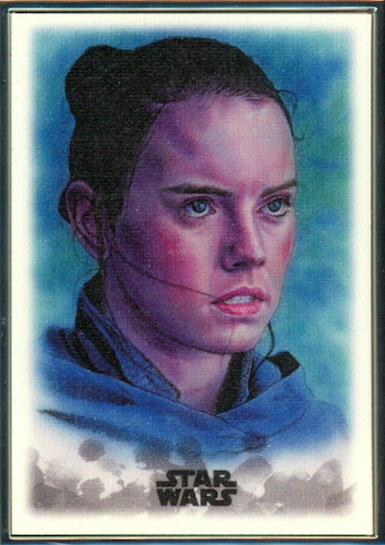 2019 Topps Star Wars Stellar Signatures Trading Cards 27