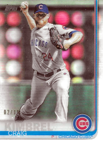 2019 Topps Update Series Baseball Cards 28