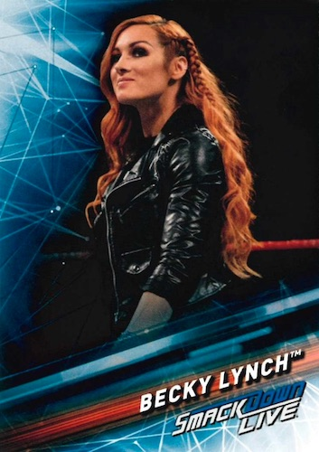 2019 Topps WWE Smackdown Live Wrestling Cards 29