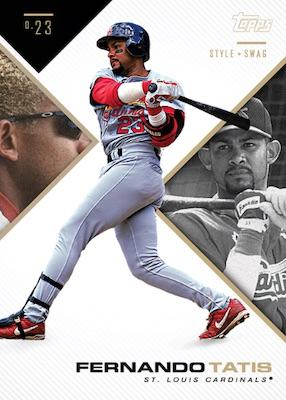 2019 Topps X Tatis Jr. 0.23 Baseball Cards 6