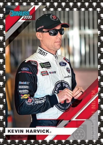 2020 Donruss Racing NASCAR Cards - Retail Wrapper Redemption 5