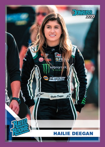 2020 Donruss Racing NASCAR Cards - Retail Wrapper Redemption 4