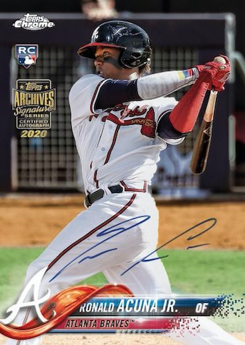 2020 Topps Archives Signature Series Active Player Edition Baseball Cards 3