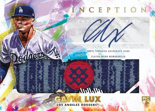 2020 Topps Inception Baseball Cards 9
