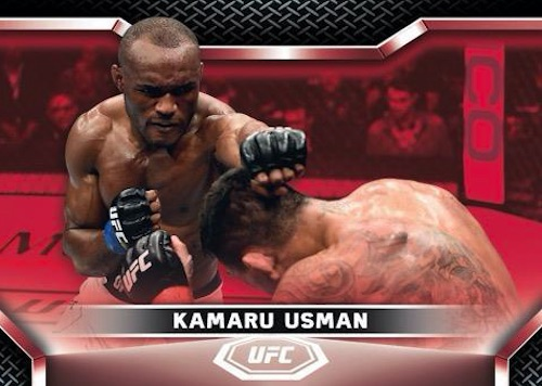 2020 Topps UFC Knockout MMA Cards 3
